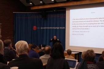 Rune Skarstein presenterer originale Keynes.